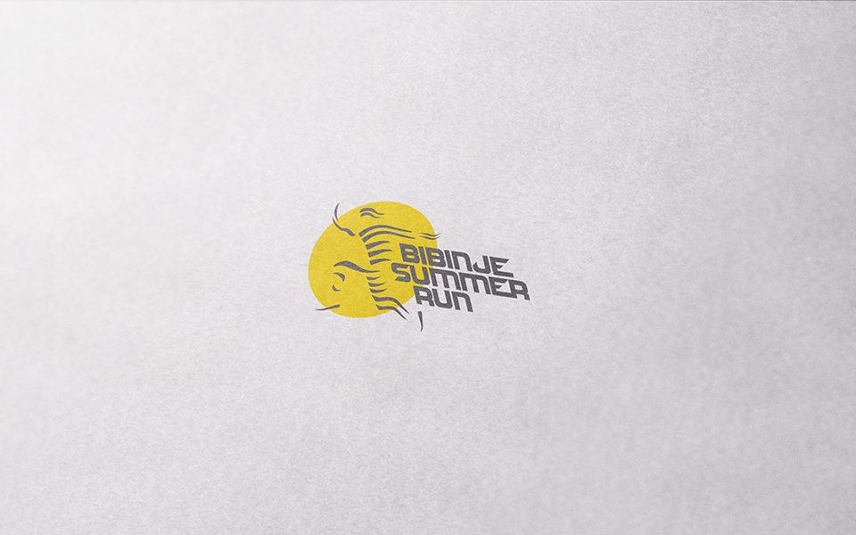 VISUAL IDENTITY - BIBINJE SUMMER RUN