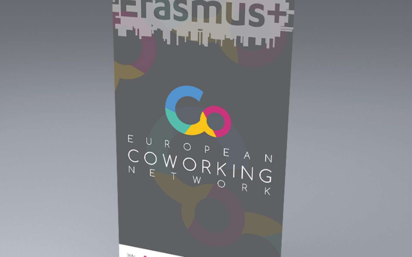 VISUAL IDENTITY - EUROPEAN COWORKING NETWORK