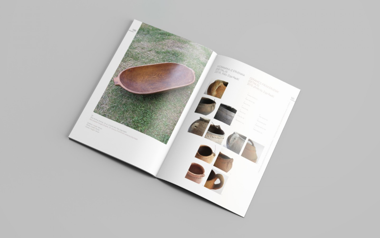 CATALOGUE DESIGN - TRADITIONAL POTTERY
