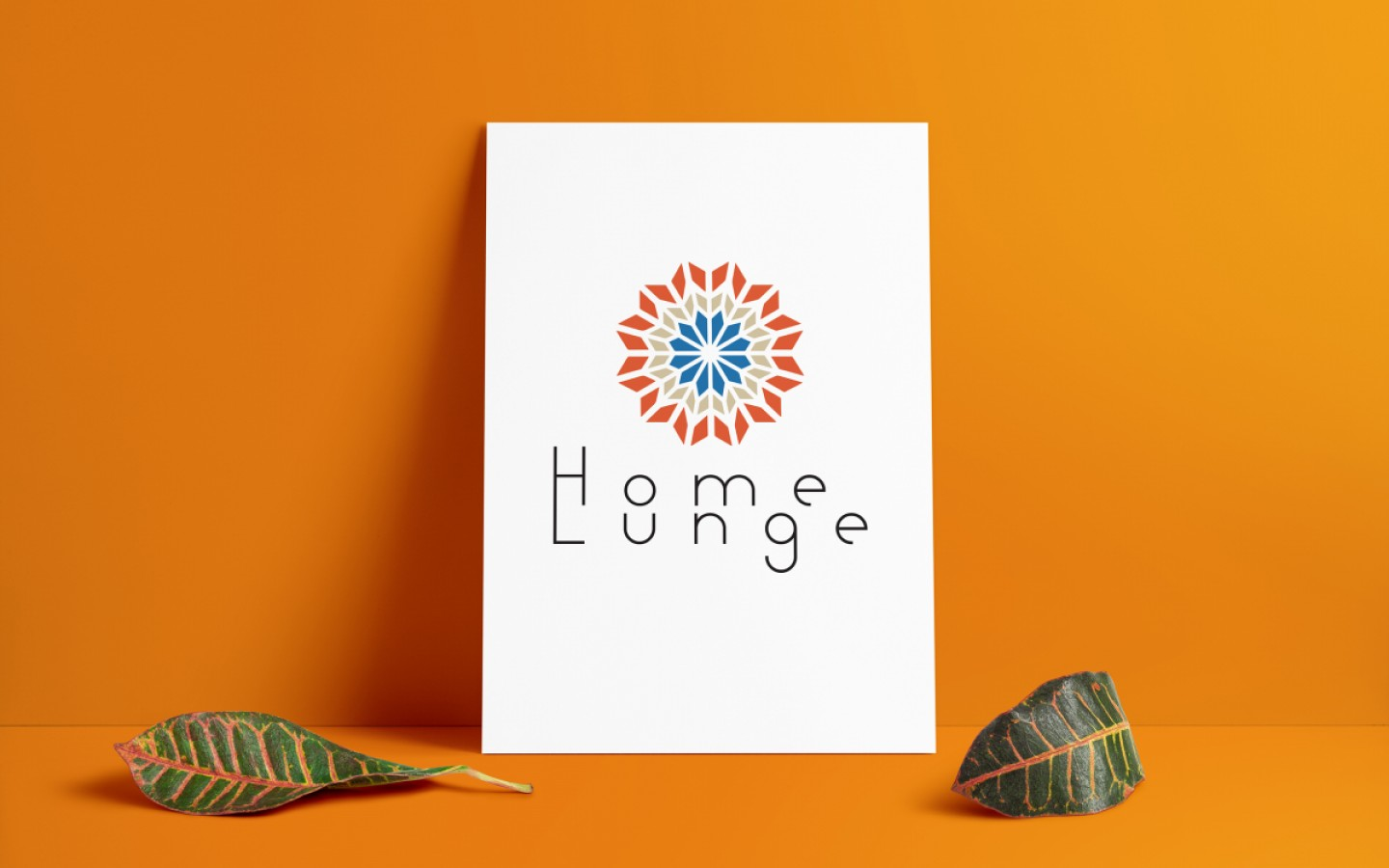 VISUAL IDENTITY & INTERIOR DESIGN - HOME LUNGE