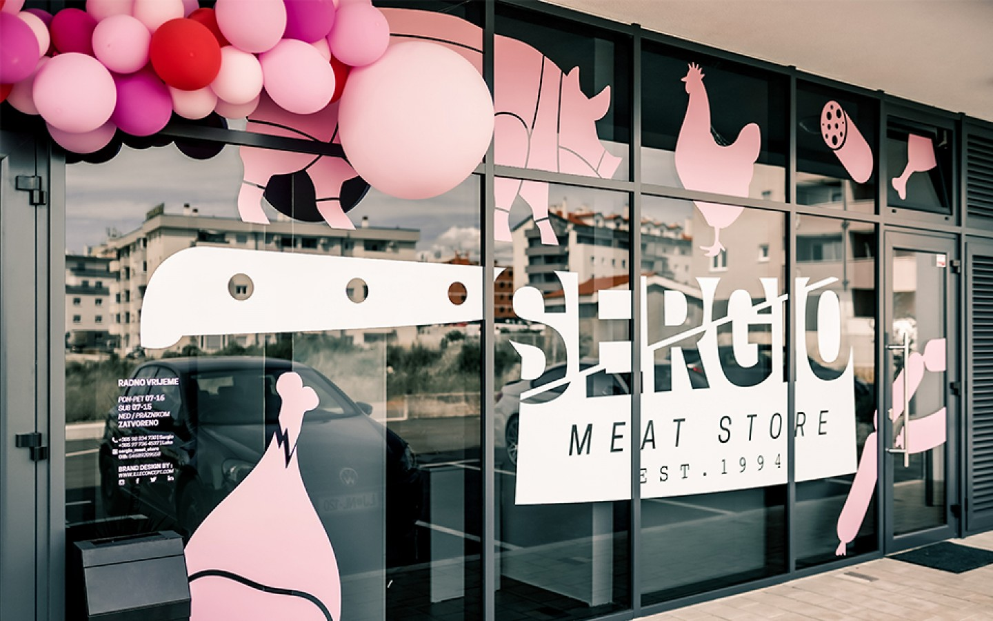 VISUAL IDENTITY & INTERIOR DESIGN - SERGIO MEAT STORE