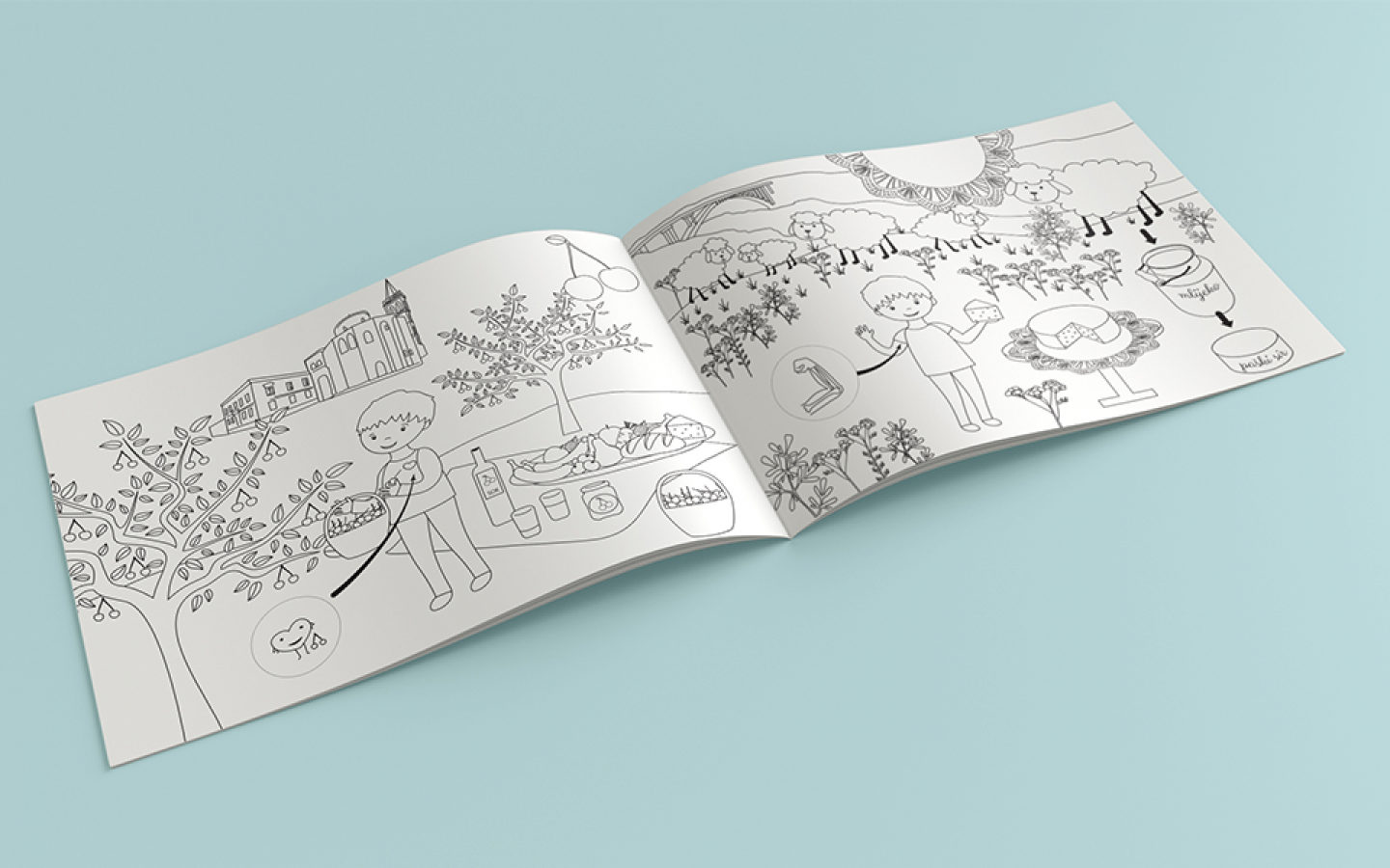 COLORING BOOK & WORKBOOK DESIGN